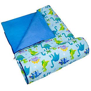 Wildkin Dinosaur Land Original Sleeping Bag, , rollover