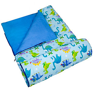 Wildkin Dinosaur Land Original Sleeping Bag, , large
