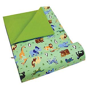 Wildkin Wild Animals Original Sleeping Bag, , rollover