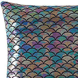 Material Girl Mermaid Ombre Square Decorative Pillow, , rollover