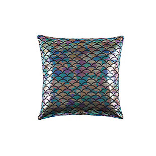 Material Girl Mermaid Ombre Square Decorative Pillow, , large