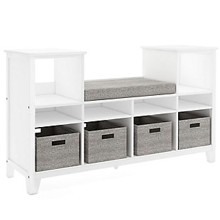 Guidecraft Martha Stewart Living and Learning Kids' Reading Nook, White, large