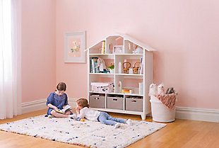 Guidecraft Martha Stewart Living and Learning Collection: Kids' Dollhouse Bookcase, , rollover