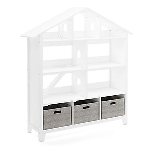 Guidecraft Martha Stewart Living and Learning Collection: Kids' Dollhouse Bookcase, , large