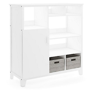 Guidecraft Martha Stewart Living and Learning Kids' Media System, White, large