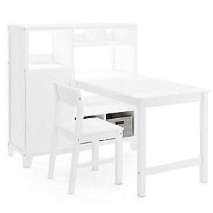 Guidecraft Martha Stewart Living and Learning Kids' Media System with Desk Extension and Chair, , large