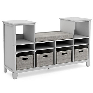 Guidecraft Martha Stewart Living and Learning Kids' Reading Nook, Gray, large