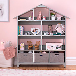 Guidecraft Martha Stewart Living and Learning Kids' Dollhouse Bookcase, , rollover