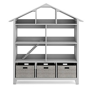 Guidecraft Martha Stewart Living and Learning Kids' Dollhouse Bookcase, , large