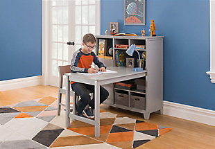 Guidecraft Martha Stewart Living and Learning Kids' Media System with Desk Extension and Chair, , rollover