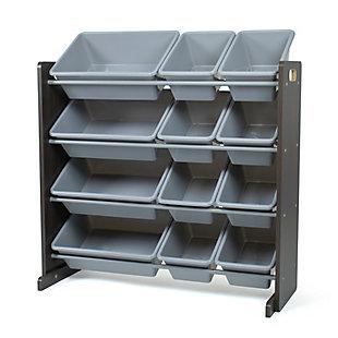 Humble Crew Sumatra Toy Storage Organizer with 12 Storage Bins, , large