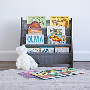 Humble Crew Sumatra Kids Bookshelf 4 Tier Bookrack Organizer, , rollover