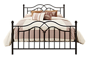 DHP Tokyo Metal Queen Bed, , large