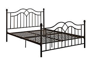 DHP Tokyo Metal Queen Bed, , rollover