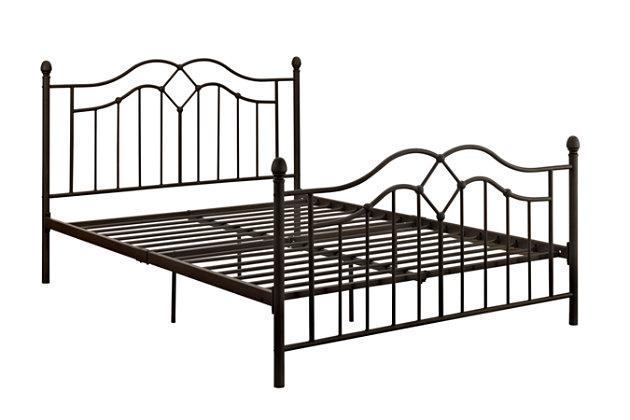 Dhp Tokyo Metal Queen Bed Ashley Furniture Homestore