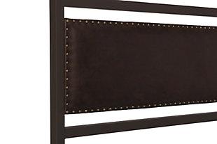 Vintage Queen Metal  Bed, , large