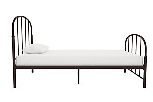 Lafayette Metal Twin Bed, Bronze, large