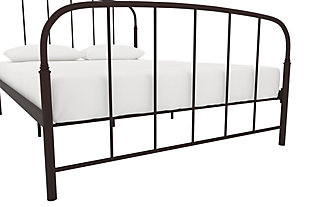 Lafayette Metal Twin Bed, Bronze, large