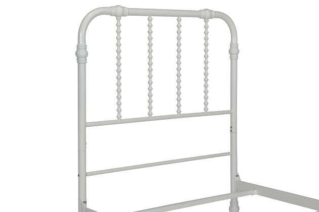Jenny Metal Twin Bed, , large