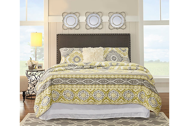 Contempo Full/Queen Upholstered Headboard, , large