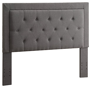 Linon Clayton Full/Queen Upholstered Headboard, , rollover