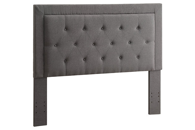 Clayton Full/Queen Upholstered Headboard, , large
