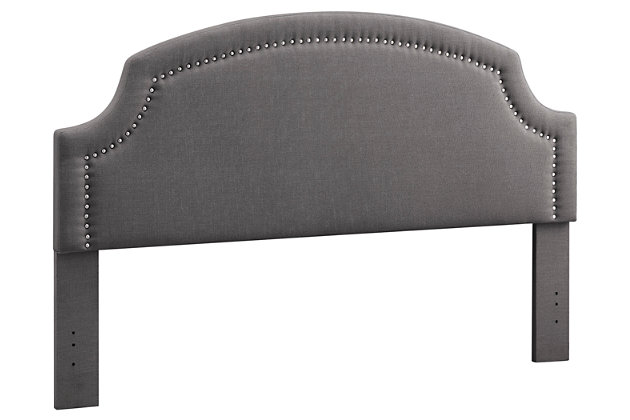 Courvan King Upholstered Headboard, , large