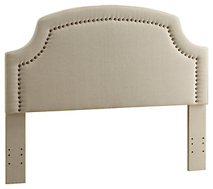 Courvan Full/Queen Upholstered Headboard, , large