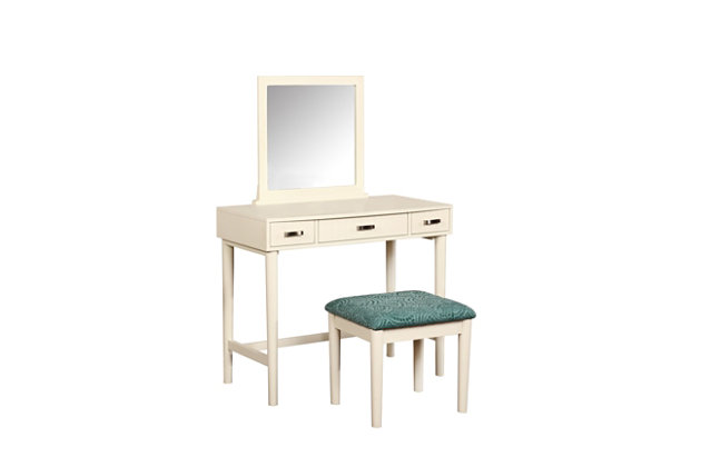 Linon Garbo Vanity Set Ashley Furniture Homestore