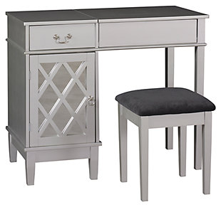 Lattice Vanity Set, , large