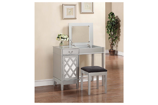 Lattice Vanity Set Ashley Furniture Homestore