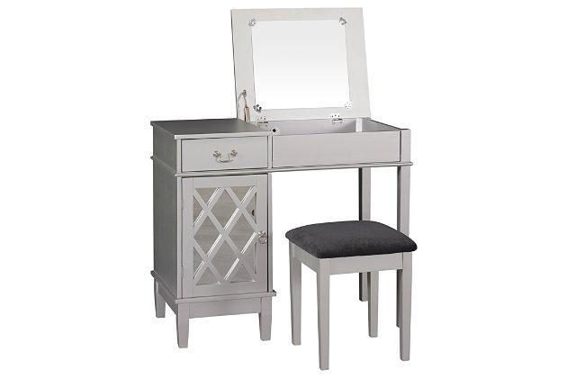 Lattice Vanity Set Ashley Furniture Homestore