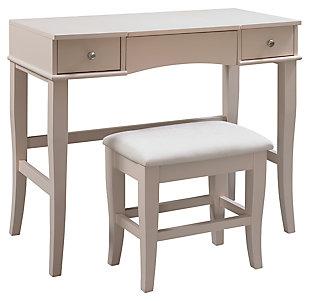 Linon Jackson Vanity Set, , large