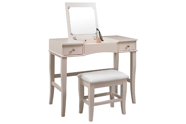 Linon Jackson Vanity Set Ashley Furniture Homestore