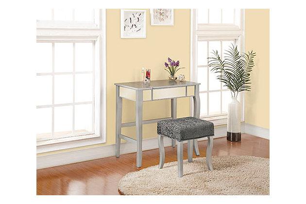 Linon Harper Vanity Set, , large