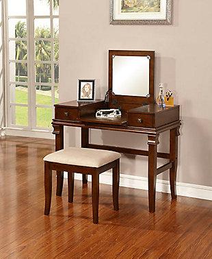 Linon Angela Vanity Set, , large