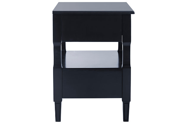 Jenson Two Drawer Night Stand, , large