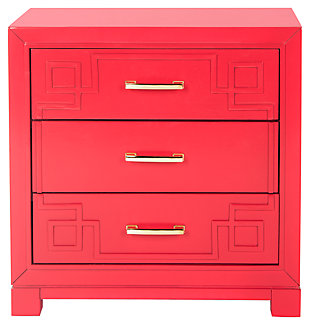 Three Drawer Night Stand, , large