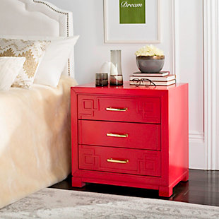 Three Drawer Night Stand, , rollover