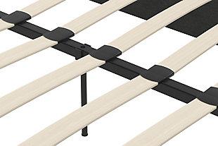 Upholstered Queen Platform Bed, , large