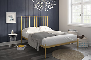 Dunston Metal Queen Bed, , rollover