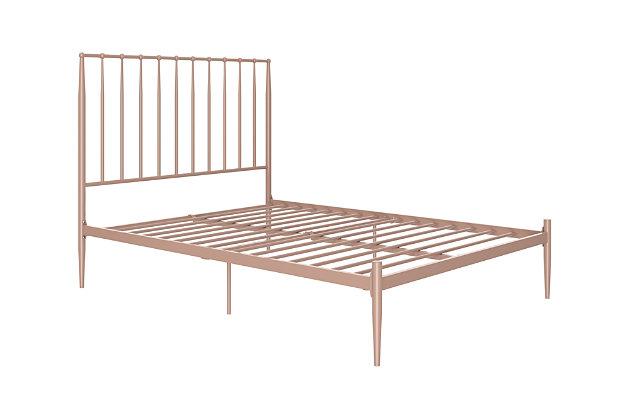 Dunston Metal Queen Bed, , large