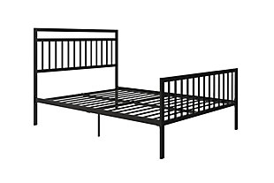 Metal Queen Bed, , large