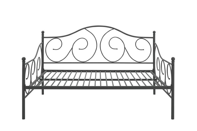 Tori Full Size Metal Daybed, , large