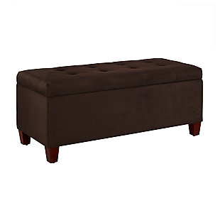 Augusta Shoe Storage Ottoman, , large
