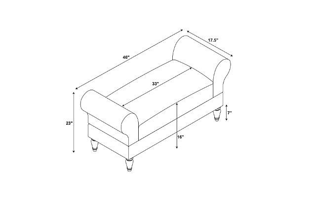 Linon Bench, , large