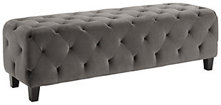 Flor Tufted Bench, , rollover