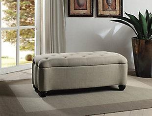 Kayla Bedroom Bench, , rollover