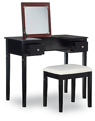 Linon Vanity Set, , large