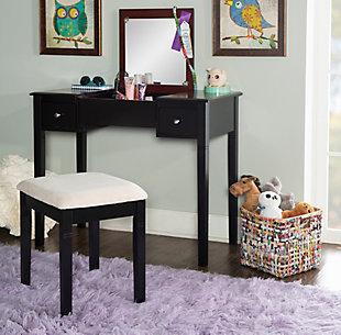 Linon Vanity Set, , rollover